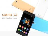 Анонсирован компактный 4-ядерный смартфон Oukitel С2 стоимостью $50