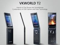 Анонсирован флип-смартфон Vkworld T2 с поддержкой dual-SIM за $130