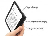 Amazon представила Kindle Oasis с чехлом-крышкой со встроенной батареей за $290