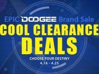 Распродажа GearBest: Скидки до 60% на смартфоны DOOGEE