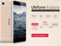 Безрамочный флагман Ulefone Future на Gearbest.com всего за $240