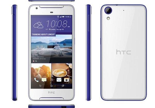 HTC представила смартфон среднего уровня Desire 628