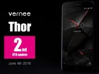Vernee выпустил второе OTA-обновление для Thor!