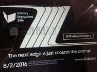 Названа официальная дата анонса Samsung Galaxy Note 7/Note 7 edge