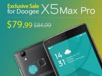 Анонсирован Doogee X5 Max Pro с биометрическим сенсором за $85