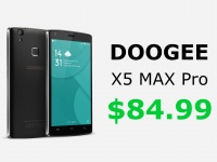 DOOGEE X5 MAX Pro – лучшее предложение в своем классе. Предзаказ за $84.99