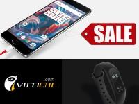 Распродажа аксессуаров для OnePlus 3 и Xiaomi Mi Band 2