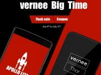 Официальные акции от Vernee в июле: Распродажи, Купоны и Шанс выиграть бесплатные смартфоны