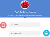 AnTuTu рассекретил спецификации Samsung Galaxy Note 7