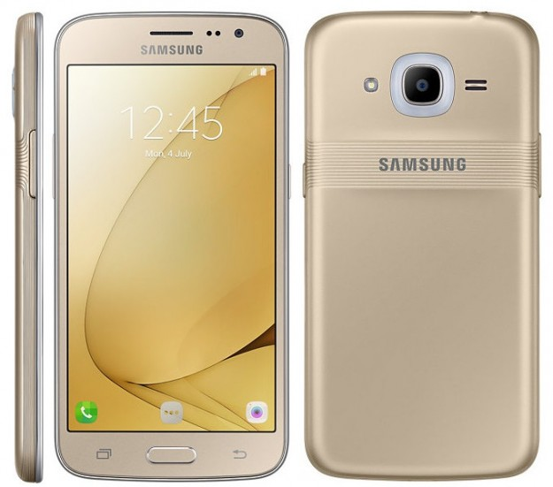 Самсунг представила Galaxy J2 сосветящимся кольцом