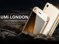Дисплей смартфона Umi London получил технологию защиты DG Twin Shield