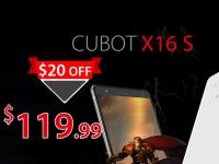 CUBOT X16 S - $119.99 за 3 ГБ ОЗУ и корпус толщиной 7 мм