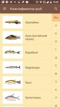 полезные программы для рыболова