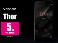 Анонсирован релиз пятого OTA-обновления для смартфона Vernee Thor