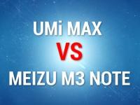 Сравнение скорости работы Meizu m3 и UMi Max с 3 ГБ ОЗУ и Helio P10