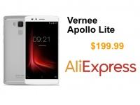 Распродажа Vernee Apollo Lite на AliExpress за $199.99