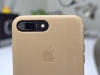 Обзор: Обновленный кожаный чехол Apple Leather Case для iPhone 7 Plus