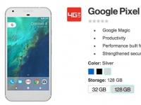 Google Pixel и Pixel XL получат три расцветки корпуса и «Google Magic»