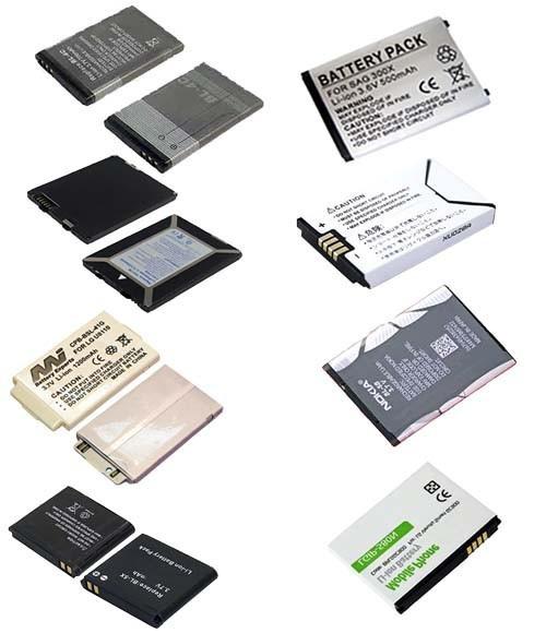 батареи для телефонов