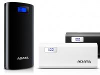 ADATA представляет внешние аккумуляторы P20000D и P12500D