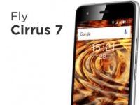 Fly Cirrus 7 получил HD-экран, 13Мп камеру и ценник в $158