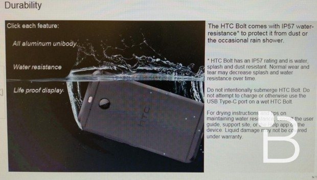Анонсирован субфлагманский смартфон HTC Bolt