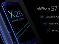 Представлен флагман Elephone S7 Limited Edition с MediaTek Helio X25 SoC