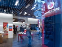 В Харькове открылся первый магазин Vodafone