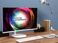 CES 2017: Samsung представила новый изогнутый монитор на квантовых точках