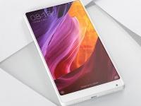 CES 2017: Xiaomi представила безрамочный флагман Mi MIX в белом цвете