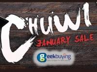 Распродажа от Chuwi: подарки и дополнительные скидки на планшеты