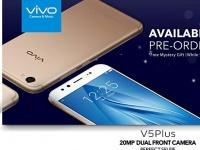 Неанонсированный смартфон Vivo V5 Plus доступен для предзаказа на сайте ритейлера