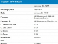 Samsung Galaxy J7 (2017) засветился в Geekbench 4