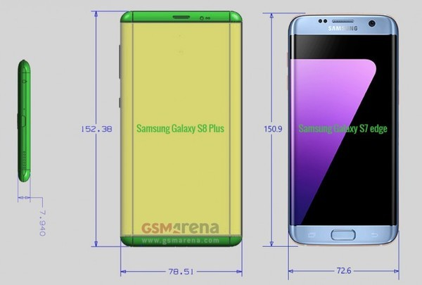 Самсунг Galaxy S8 засветился навидео ифотографиях