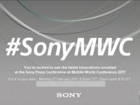 Sony приглашает на презентацию в рамках MWC 2017