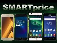 SMARTprice: Samsung Galaxy A3 (2017), ASUS ZenFone 3 Max (ZC520TL), Philips S326 и Xenium X818