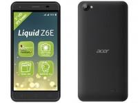 Анонсирован смартфон Acer Liquid Z6E с Android 6.0 за 100 евро