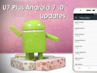Смартфон OUKITEL U7 Plus получил обновление до Android 7.0