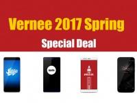 Vernee 2017 Spring Big Deal - большая распродажа со скидками до $90