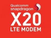 Анонсирован модем Qualcomm Snapdragon X20 с поддержкой LTE Cat 18