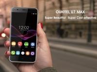 Анонсирован старт предзаказов на смартфон OUKITEL U7 Max
