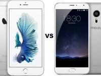 Смартфон Apple iPhone 6s Plus vs Meizu Pro 6 – вся суть в деталях