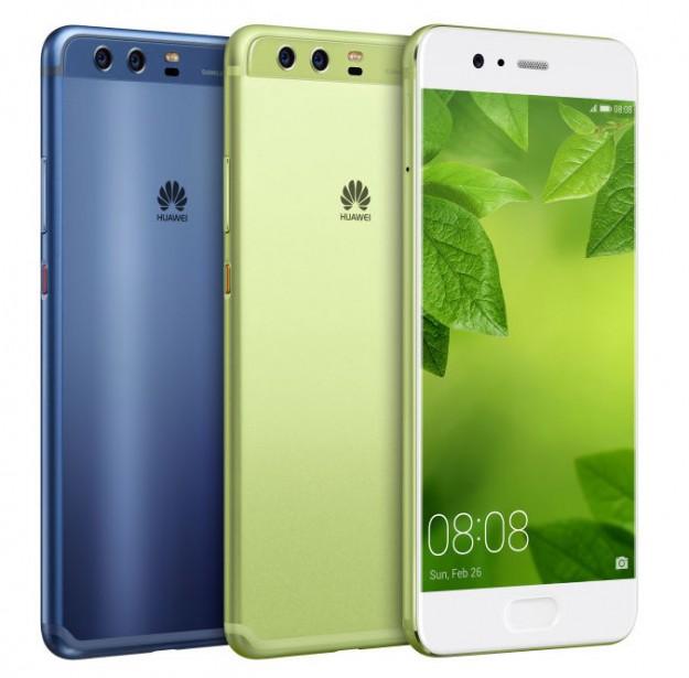 MWC 2017: новые массивные  флагманы: Huawei P10 иP10 Plus