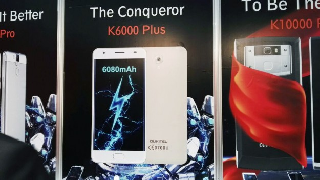 Китайская компания Oukitel анонсировала K10000 Pro сбатареей на10100 мАч