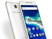 MWC 2017: General Mobile GM 6  — новый смартфон проекта Android One с  биометрическим сенсором