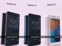 Nokia 3, 5 и 6 стали доступны для предзаказа в Европе