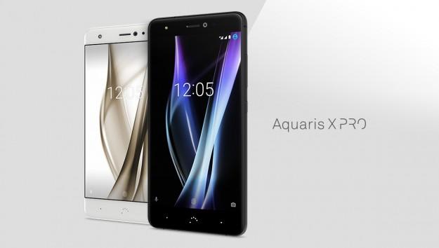 Анонсированы мобильные телефоны Aquaris XиAquaris XPro