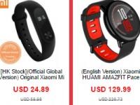 Распродажи в Китае: смарт часы, экшн-камеры и квадрокоптеры