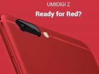 Представлен металлический флагман UMi Z в красном цвете