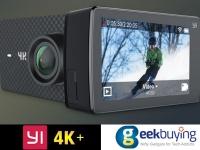 YI 4K+ – экшн камера с поддержкой 4K 60 кад/с, дисплеем, голосовым управлением и батареей на 1400 мАч со скидкой $29